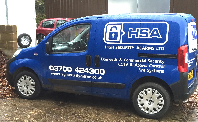 High Security Alarms Kent